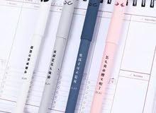 قلم حبر قابل للمسح