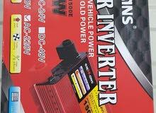 انفينيتير يعمل ببطارية السيارة 1500وات