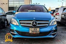 Mercedes Benz B Class 2015 For sale - Blue color