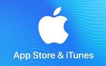 متوفر  كروت  Apple store