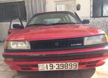 For sale 1989 Red Corolla