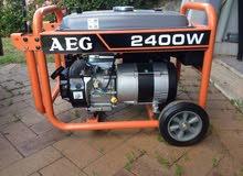 مولد كهرباء AEG 2.4 kw