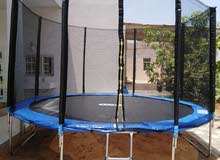 Trampolin Slides & Swing