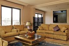 روف شبه مفروش بتشطيبات فاخرة للايجار في دابوق (ام بطيمة) , مساحة البناء 160م - مساحة الترس 160م