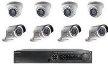 تركيب نظام مراقبة كاميرات بسعر مغري جداً كفالة لمدة سنة