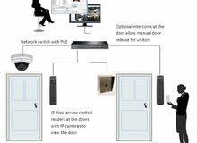 كاميرا وانظمة امنية (معتمدون لدى الامن العام)