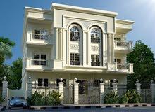 شقة مساحة 225م للبيع بجنوب الاكاديمية منطقة ا بتسهيلات