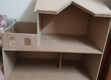 بيت باربي خشب 123674589 السوق المفتوح