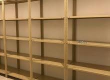 أرفف رفوف تخزين للمخازن والمنازل والمستودعات