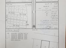 للبيع ارض سكنية في بركاء الرميس جنوب مقابل محطة التحلية