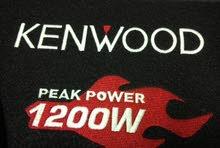 مضخم + سماعة 1200 وات كينوود Amplifier +woofer 1200watt kenwood