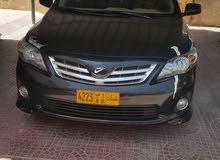 Toyota Corolla 2011 For sale - Black color