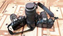 كاميرا نيكون 5300 + كاميرا كانون 700D