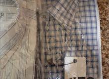 اتنين قميص رجالي - ب كُم جداد- مقاس 42