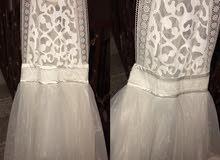فستان مقاس L ينفع M