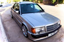 Automatic Gold Mercedes Benz 1988 for sale