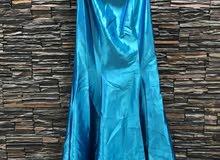 فستان تركوازي