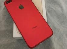 ايفون 7 بلس احمر صيني مقلد المتبقي 4 أجهزة اللي بياخذهم كلم له سعر خاص