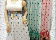 فستان مبطن