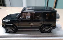 مجسم مرسيدس جي كلاس لون اخضر غامق (نسخة الوكيل)  Mercedes G class scale model Dealer's Edition