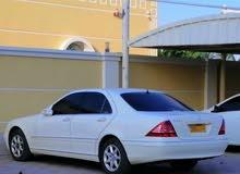 للبيع مرسيدس بنز S500 موديل 2004 نظيف جدا داخل جلد بيج نظيف