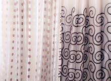 For sale  Curtains with special specs and additions