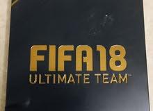 للبيع لعبه Fifa 18 ، فيفا 18