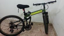 دراجه هامر بحاله جيده ويوجد لديها قفل  استعمل قليل