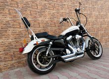 Used Harley Davidson motorbike up for sale in Muscat