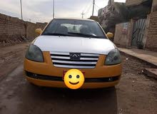 Automatic Yellow Chery 2013 for sale