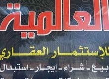 هكتار للبيع في الطالخيه  شارع الخزان علي القطران