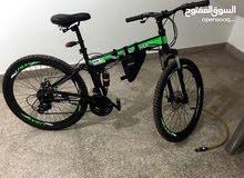سيكل دراجه 26 انش مع 3 جمبيلات وينصفط السيكل،دراجه