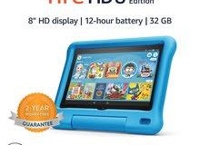 تابلت امازون أليكسا 8 بوصة 32 جيجا Amazon Tablet Fire HD 8 Inch With Alexa 32 GB 988.00 SR