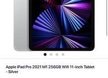 iPad 11 pro 2021 ( 256 gb - Wi-Fi)