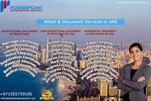 Power Point Attestation Services UAE - Certificate & Document Attestation Services in UAE