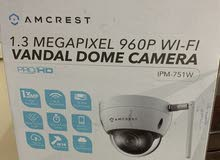 Amcrest ProHD REP-IPM-751W Vandal Dome Outdoor 1.3MP Wi-Fi IP Security Camera