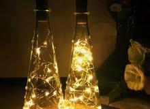 إضاءة للزجاجات Bottle lights