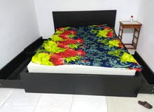 ikea bed with inbuilt drawers plus mattress
