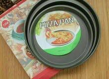 طقم صوانى للبيتزا عدد 3 صينية مقاس 30,28,23