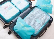 6 محافظ للترتيب حقيبة السفر