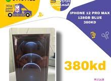 iphone 12 pro max 128 GB BLUE