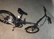 سيكل (دراجه) B-twin tilt500 قابله للطي هجين جبلي 7 سرعات خلفيه