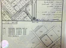 ارض سكنية بالسيح الاحمر مقابل مركز شرطة بدبد