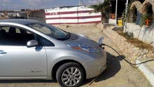 Nissan Leaf 2015 For Rent - Grey color