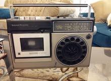 راديو ومسجلات ناشونال يابانى للبيع