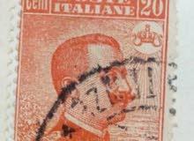 طابع ايطالي نادر ومصنف دولي به خطأ