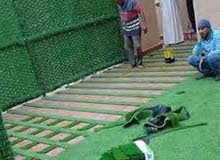 الجوري للزراعه وتنسيق الحدائق الداخليه والخارجيه وتوريد وتركيب طلبيات العشب الصن