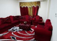 للايجار بعجمان غرفه وصاله مفروش بالروضه قريب من فندق ايوان 3200 شامل مع انترنت