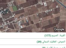 أرض زراعية -اربد-شارع البترا-اراضي الصريح