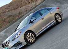 Grey Hyundai Sonata 2016 for sale